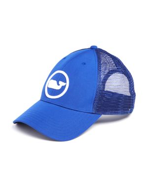Vineyard Vines Whale Dot Puff Embroidered Trucker Hat