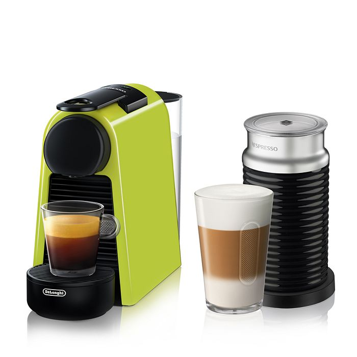 Nespresso - Essenza Mini Espresso Machine by De'Longhi with Aeroccino Milk Frother