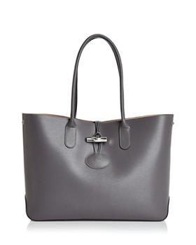 Longchamp - Roseau Leather Tote
