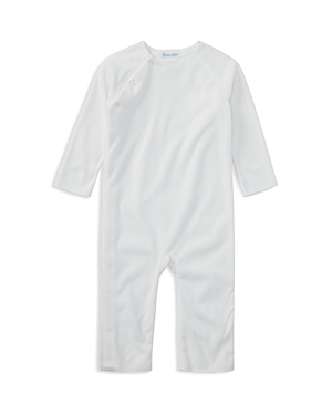 Ralph Lauren Childrenswear Unisex Microfleece Coverall - Baby