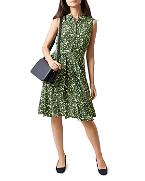 Hobbs London Belinda Petal Print Dress