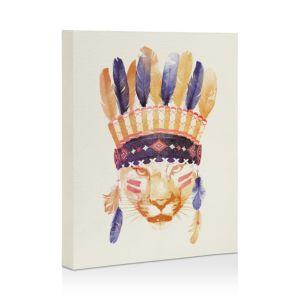 Deny Designs Robert Farkas Big Chief Canvas, 8 x 10