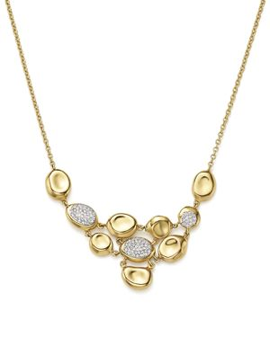 Ippolita 18K Yellow Gold Onda Diamond Necklace, 16 - 100% Exclusive