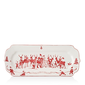 Juliska Reindeer Hostess Tray