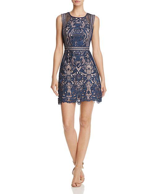 AQUA - Fishnet and Lace Dress- 100% Exclusive