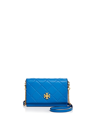 Tory Burch Georgia Turnlock Leather Chain Wallet