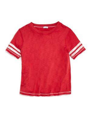 Splendid Girls' Striped Football Tee - Big Kid 2648497