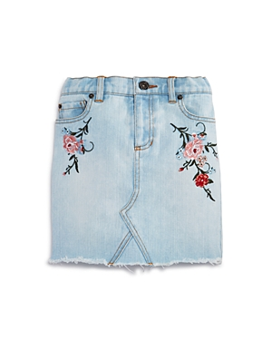 Bardot Junior Girls' Embroidered Denim Skirt - Big Kid