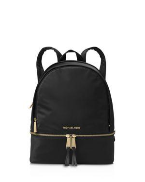 Michael Michael Kors Rhea Zip Large Nylon Backpack
