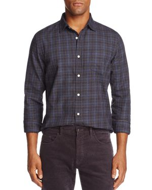 The Men's Store at Bloomingdale's Brushed-Flannel Classic Fit Shirt - 100% Exclusive thumbnail