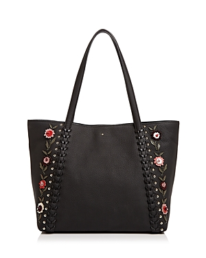 kate spade new york Madison Daniels Drive Embellished Leather Tote
