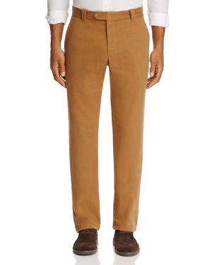 The Men's Store at Bloomingdale's Calvary Twill Straight Fit Pants - 100% Exclusive
