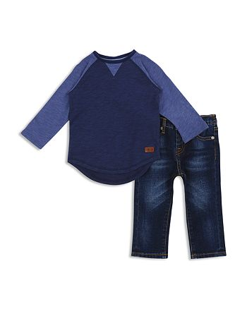 7 For All Mankind - Boys' Raglan Tee & Jeans Set - Baby