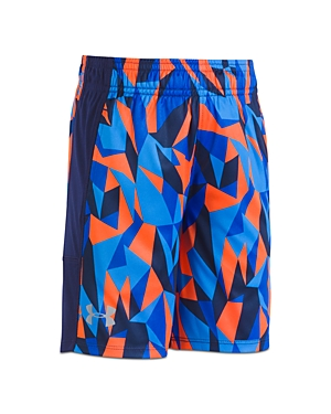 Under Armour Boys Printed Shorts  Little Kid