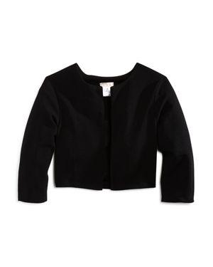 Sally Miller Girls' Textured Open-Front Jacket - Big Kid