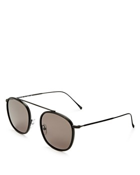 Illesteva - Women's Mykonos Ace Brow Bar Sunglasses, 52mm