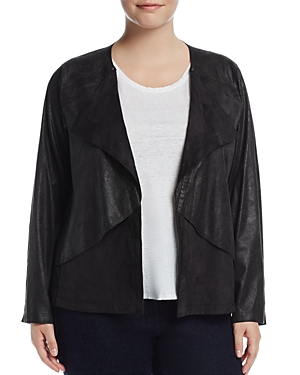 Lysse Plus Mesa Faux Suede Jacket