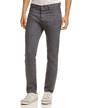 Double Eleven Slim Fit Jeans in Light Gray