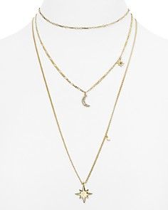 "Rebecca Minkoff Layered Star Necklace, 10""-23"" - Bloomingdale's_0"