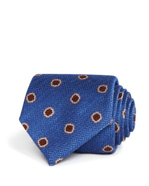 Canali Floating Flower Classic Tie - 100% Exclusive