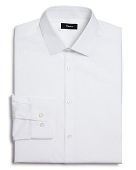 Theory - Textured Dobby Slim Fit Dress Shirt