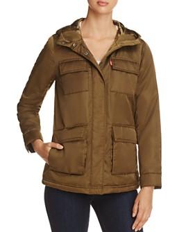 Levi's - Faux Fur Lined Four-Pocket Puffer Coat
