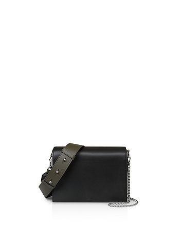 47e8608f766b ALLSAINTS - Zep Color Block Leather Shoulder Bag