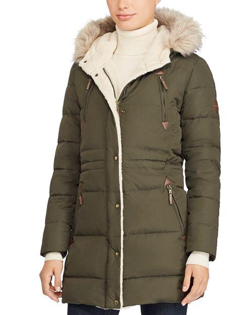 Ralph Lauren - Packable Hooded Down Coat
