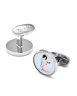 Paul Smith Naked Lady Cufflinks