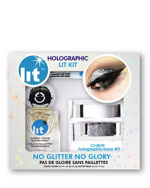 Lit Cosmetics - Glitter Pigment Lit Kit