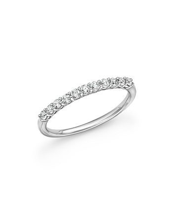 Bloomingdale's - Diamond Band in 14K White Gold, .33 ct. t.w. - 100% Exclusive