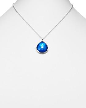 "IPPOLITA - Sterling Silver Wonderland Pendant Necklace in Ultramarine, 16"""
