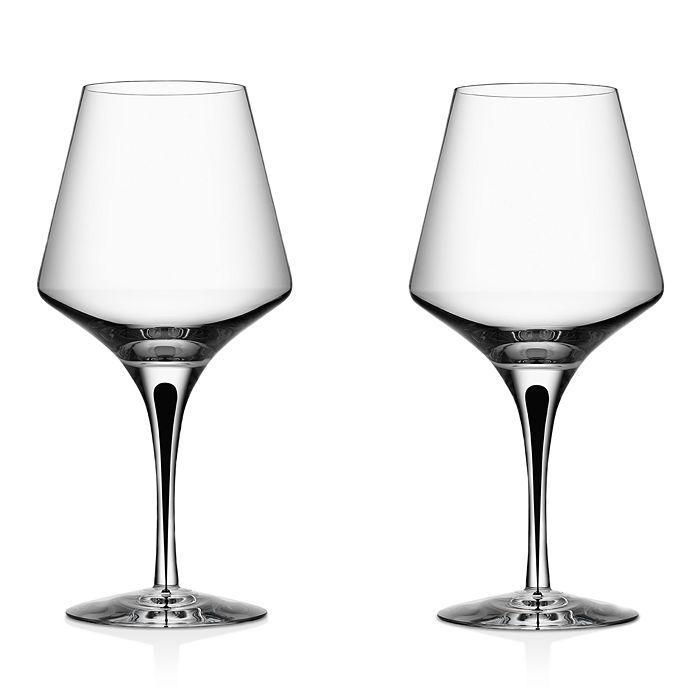 Orrefors - Metropol Red Wine Glass, Set of 2