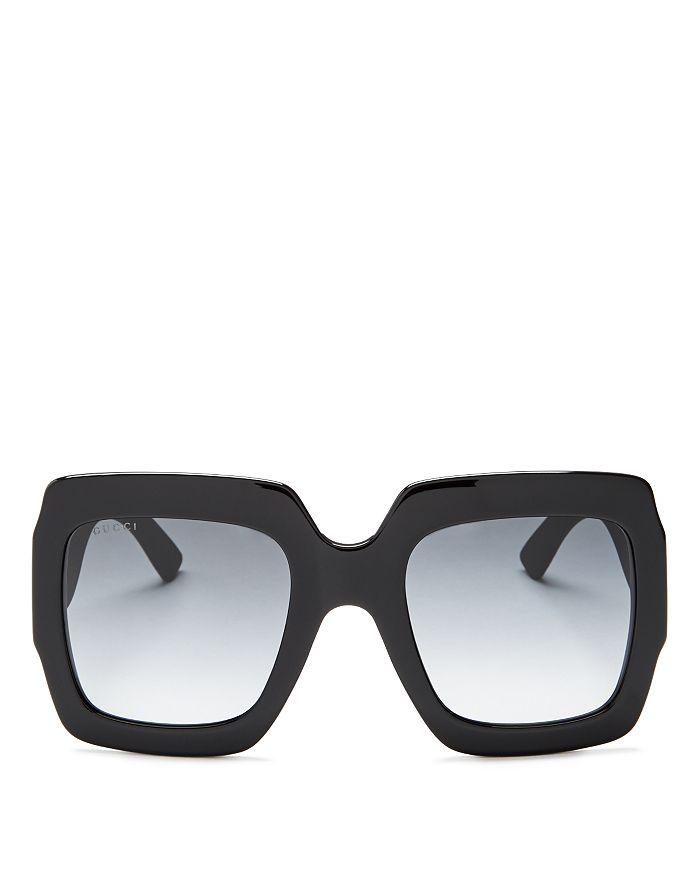 7dacd27ba8d Gucci - Women s Oversized Square Glitter Sunglasses