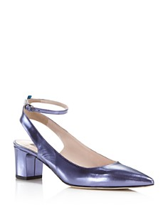 SJP by Sarah Jessica Parker - Women's Maya Patent Leather Ankle Strap Pumps  - 100% Exclusive