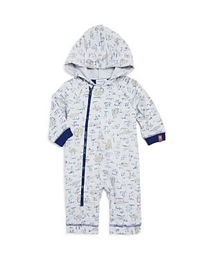 Absorba Boys Animal Print Hooded Coverall  Baby