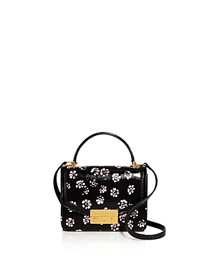 Tory Burch Juliette Printed Mini Patent Leather Crossbody