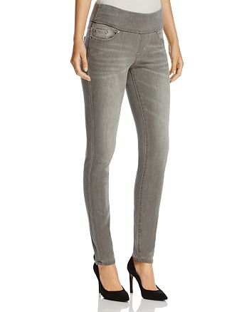 JAG Jeans - Nora Pull-On Skinny Jeans in Grey