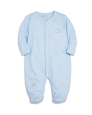 Kissy Kissy Boys MicroStriped Embroidered Footie  Baby