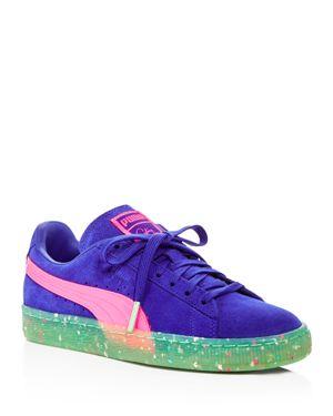 Puma x Sophia Webster Women's Suede Lace Up Sneakers