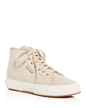 Superga Women's Classic Suede High Top Sneakers