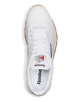 Reebok - Men's Classic Leather Lace Up Sneakers