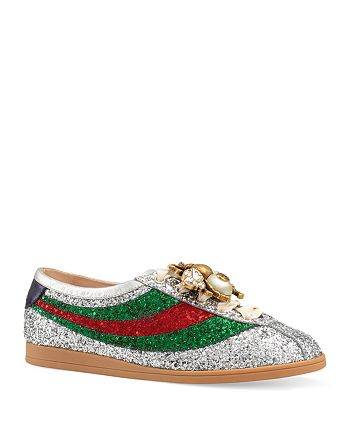 Gucci - Women's Falacer Embellished Sneakers