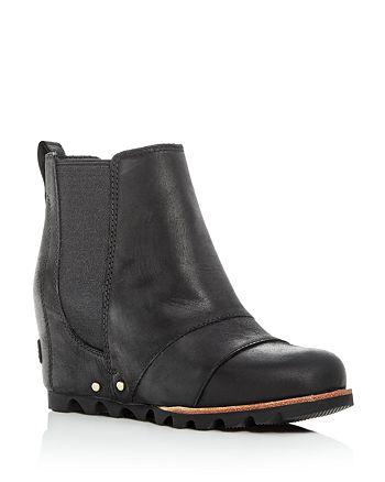 Sorel - Women's Lea Wedge Leather Booties