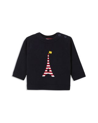 $Jacadi Boys\u0027 Striped Eiffel Tower Intarsia Sweater - Baby - Bloomingdale\u0027s