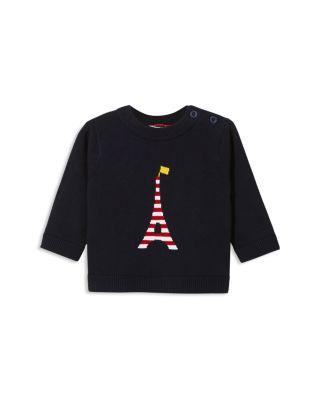 $Jacadi Boys\u0027 Striped Eiffel Tower Intarsia Sweater - Baby - Bloomingdale\u0027s
