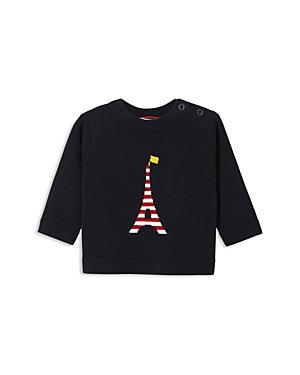 Jacadi Boys Striped Eiffel Tower Intarsia Sweater  Baby