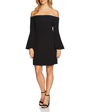 CeCe by Cynthia Steffe - Hadley Off-the-Shoulder Dress