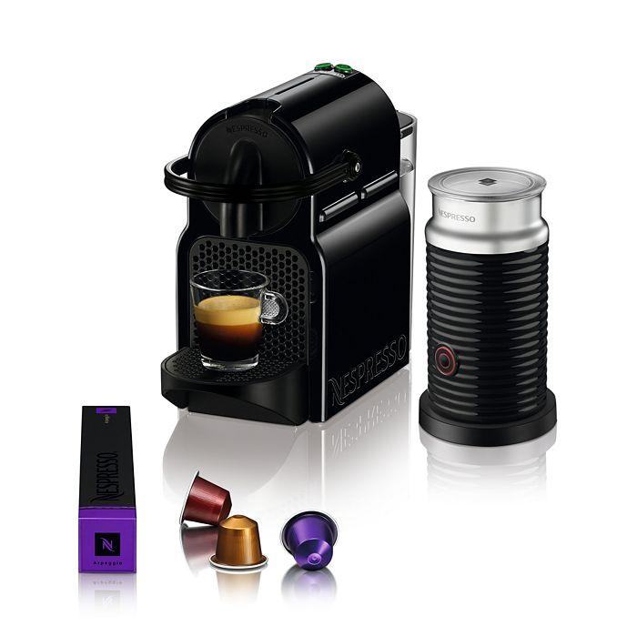 Nespresso - Inissia Espresso Machine by De'Longhi with Aeroccino Milk Frother