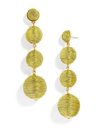 BAUBLEBAR - Criselda Ball Drop Earrings